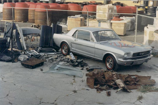 Lloyd S Auto Restorations 1966 Mustang Coupe K Option